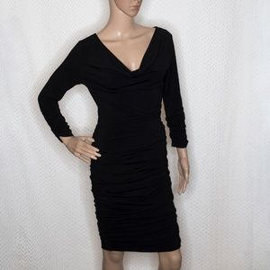 Boston Proper Ruched LBD